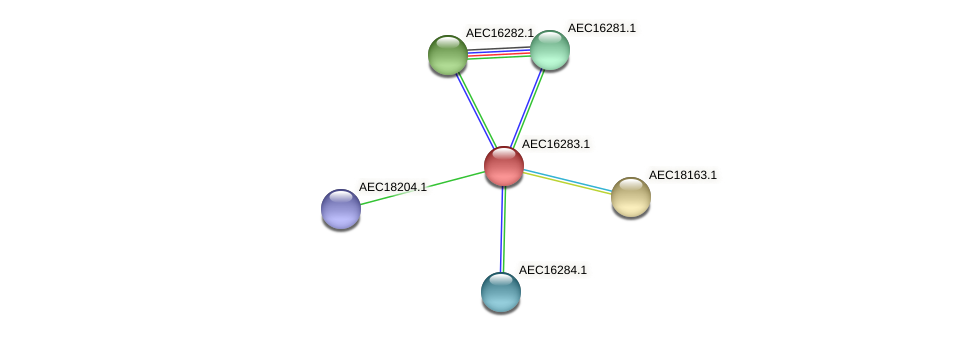 UMN179_00246 protein (Gallibacterium anatis) - STRING interaction network