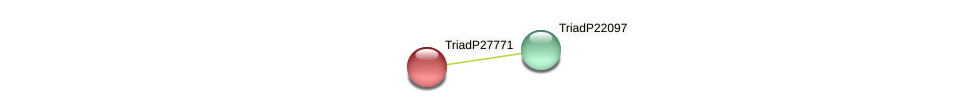 TriadP27771 protein (Trichoplax adhaerens) - STRING interaction network