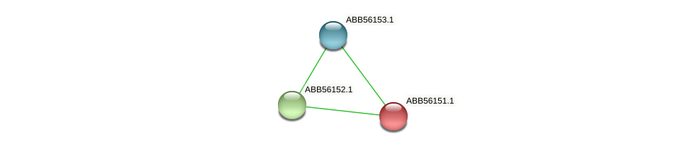 ABB56151.1 protein (Synechococcus elongatus PCC7942) - STRING interaction network
