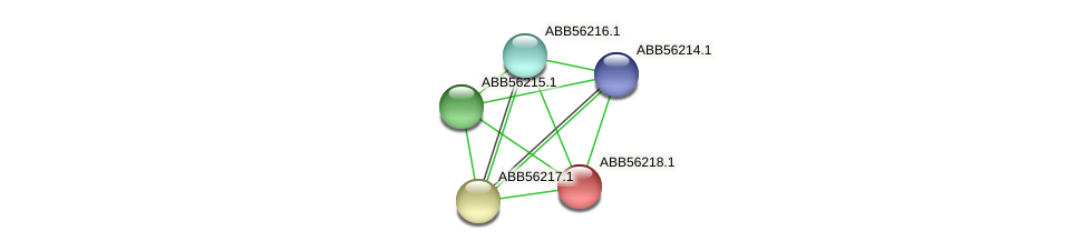 ABB56218.1 protein (Synechococcus elongatus PCC7942) - STRING interaction network