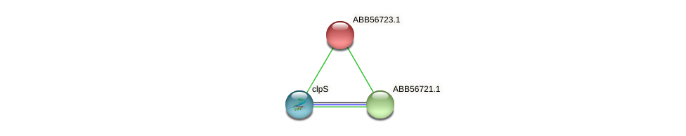 ABB56723.1 protein (Synechococcus elongatus PCC7942) - STRING interaction network
