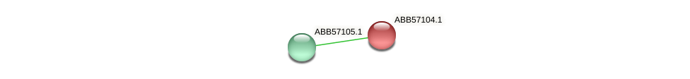 ABB57104.1 protein (Synechococcus elongatus PCC7942) - STRING interaction network