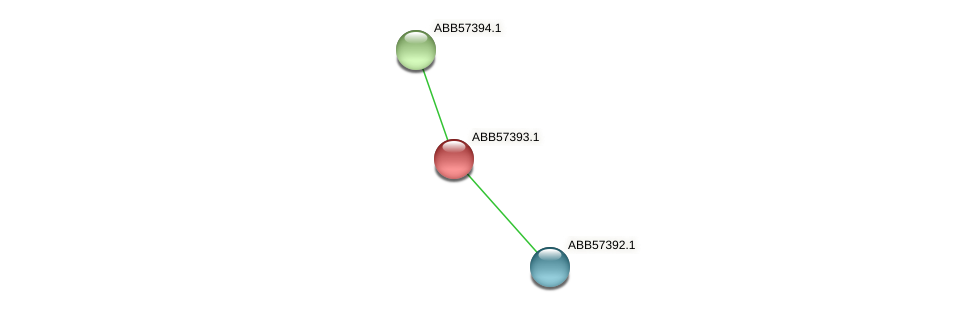 ABB57393.1 protein (Synechococcus elongatus PCC7942) - STRING interaction network