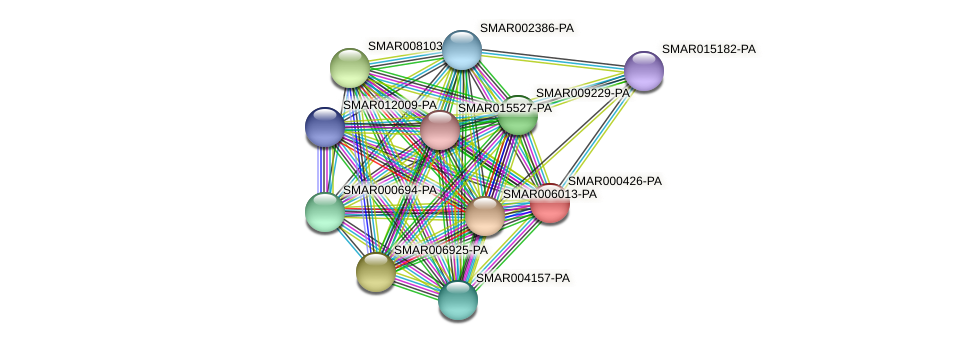 SMAR000426-PA protein (Strigamia maritima) - STRING interaction network