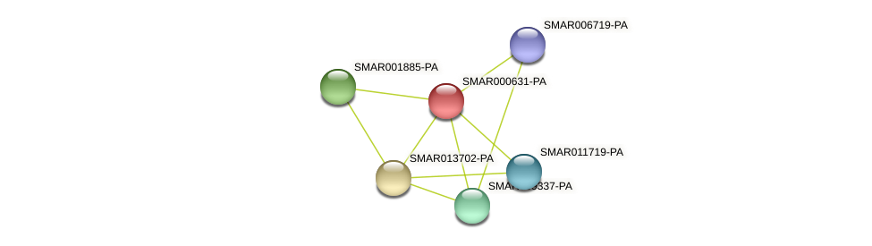 SMAR000631-PA protein (Strigamia maritima) - STRING interaction network
