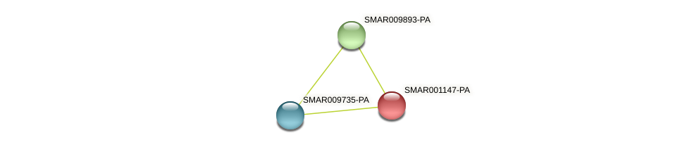 SMAR001147-PA protein (Strigamia maritima) - STRING interaction network