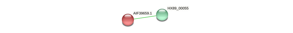 AIF39659.1 protein (Dermacoccus nishinomiyaensis) - STRING interaction network
