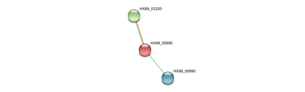 HX89_00995 protein (Dermacoccus nishinomiyaensis) - STRING interaction network