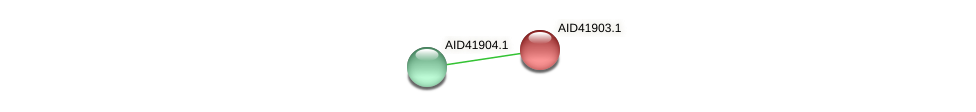 AID41903.1 protein (Staphylococcus xylosus) - STRING interaction network