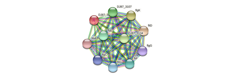 TU68_09565 protein (Bacillus cereus) - STRING interaction network