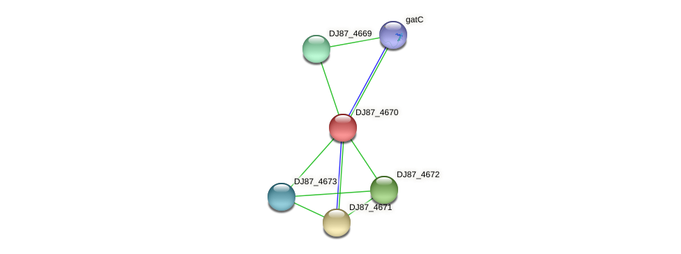marR_1 protein (Bacillus cereus) - STRING interaction network