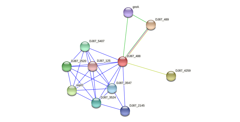 pbpI_1 protein (Bacillus cereus) - STRING interaction network