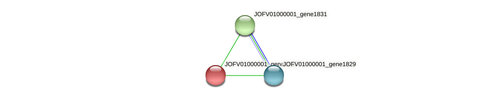 JOFV01000001_gene1830 protein (Oerskovia turbata) - STRING interaction network