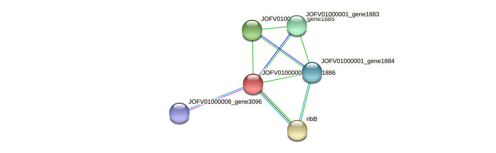 JOFV01000001_gene1886 protein (Oerskovia turbata) - STRING interaction network