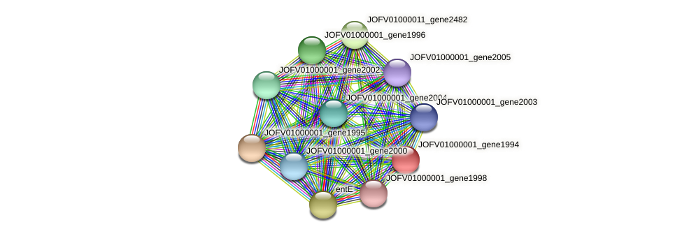 JOFV01000001_gene1994 protein (Oerskovia turbata) - STRING interaction network