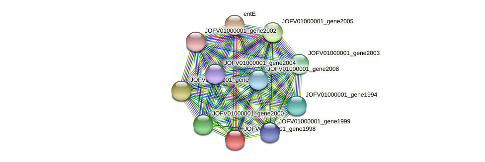 JOFV01000001_gene1998 protein (Oerskovia turbata) - STRING interaction network