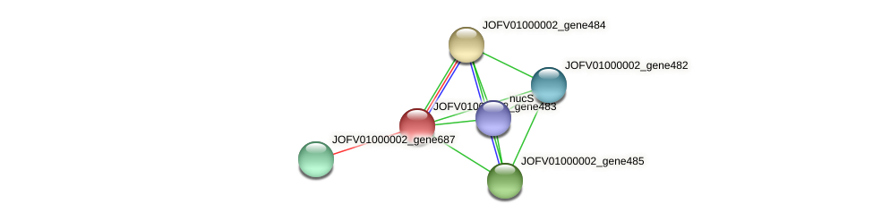 JOFV01000002_gene483 protein (Oerskovia turbata) - STRING interaction network