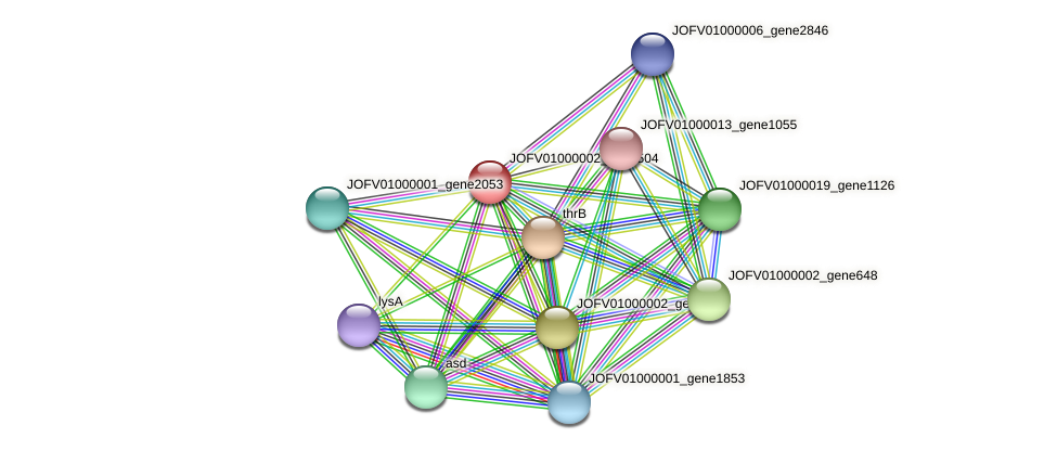 JOFV01000002_gene504 protein (Oerskovia turbata) - STRING interaction network