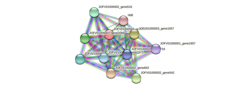 JOFV01000002_gene604 protein (Oerskovia turbata) - STRING interaction network