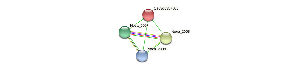 Noca_2008 protein (Nocardioides sp. JS614) - STRING interaction network