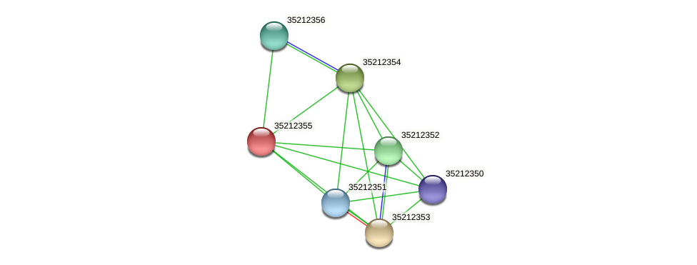 gll1789 protein (Gloeobacter violaceus) - STRING interaction network