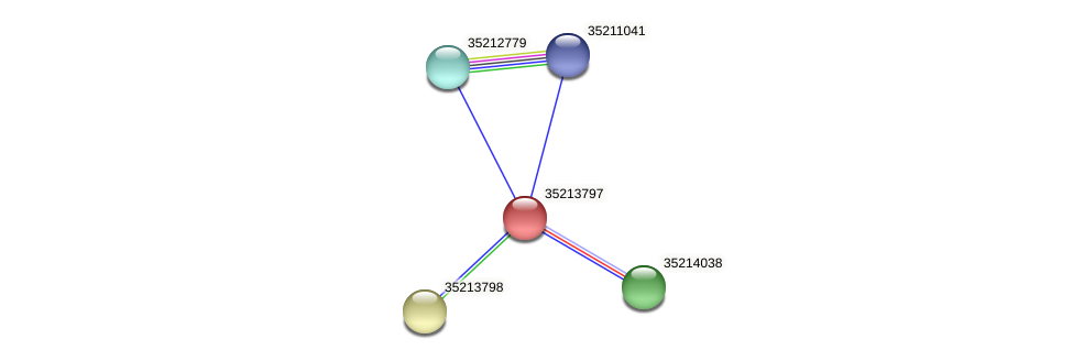 gll3226 protein (Gloeobacter violaceus) - STRING interaction network
