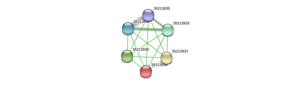gll3365 protein (Gloeobacter violaceus) - STRING interaction network
