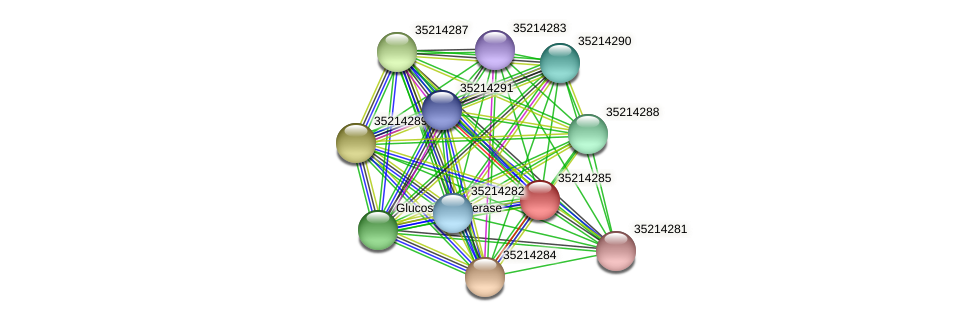 gll3712 protein (Gloeobacter violaceus) - STRING interaction network