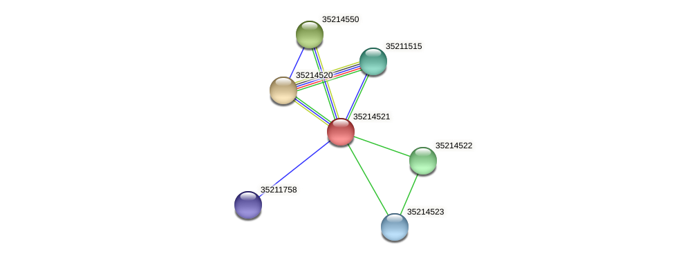 gll3948 protein (Gloeobacter violaceus) - STRING interaction network