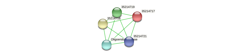 gll4143 protein (Gloeobacter violaceus) - STRING interaction network