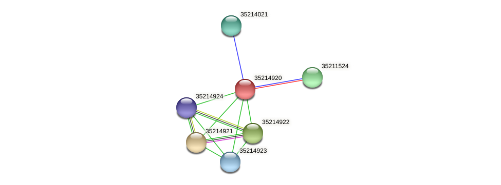 gll4345 protein (Gloeobacter violaceus) - STRING interaction network