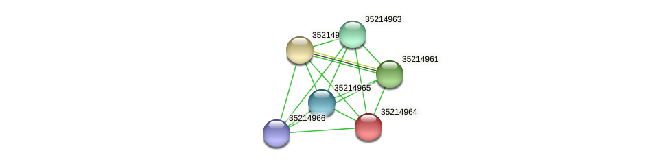 gll4389 protein (Gloeobacter violaceus) - STRING interaction network