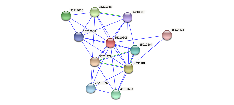 glr0045 protein (Gloeobacter violaceus) - STRING interaction network
