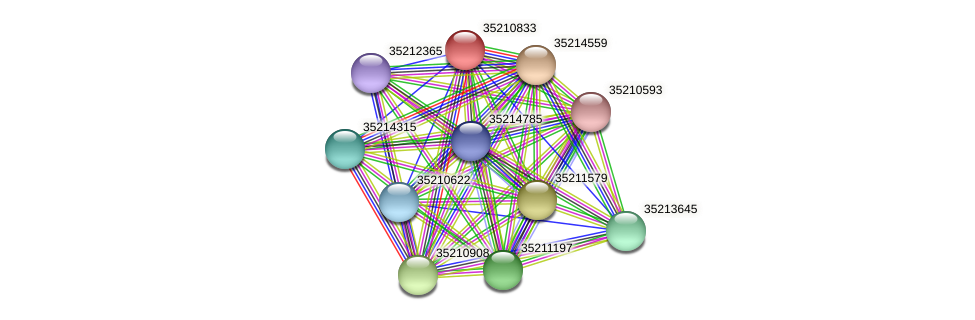 glr0273 protein (Gloeobacter violaceus) - STRING interaction network