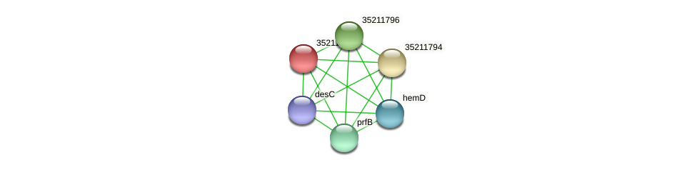 glr1231 protein (Gloeobacter violaceus) - STRING interaction network