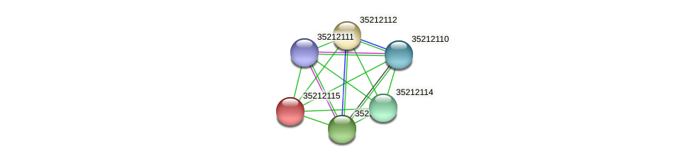 glr1550 protein (Gloeobacter violaceus) - STRING interaction network