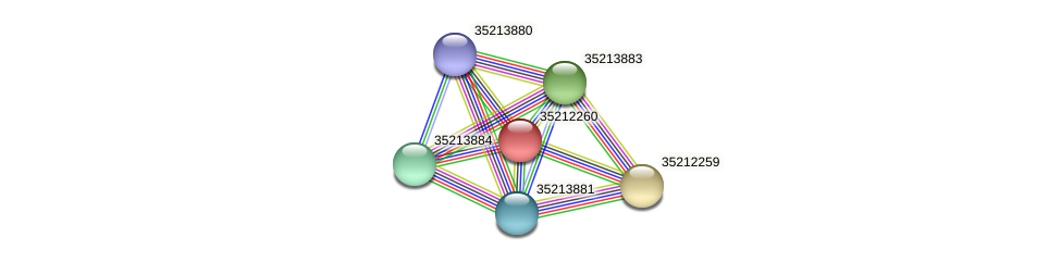 glr1694 protein (Gloeobacter violaceus) - STRING interaction network