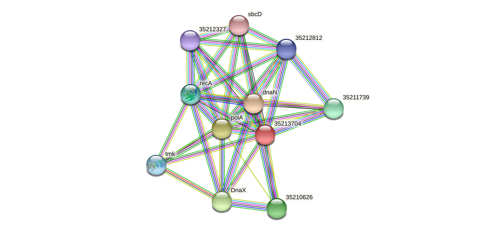 glr3133 protein (Gloeobacter violaceus) - STRING interaction network