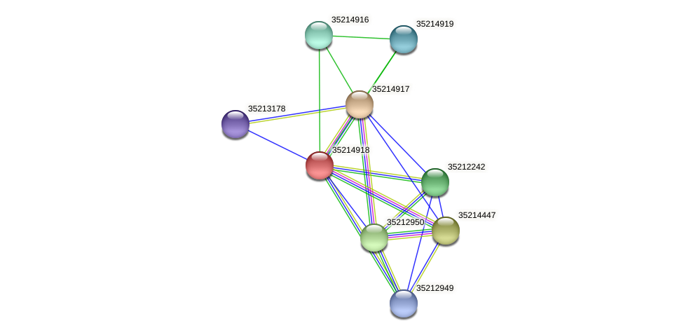 glr4343 protein (Gloeobacter violaceus) - STRING interaction network