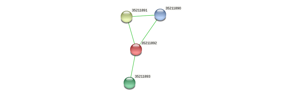 gsl1328 protein (Gloeobacter violaceus) - STRING interaction network
