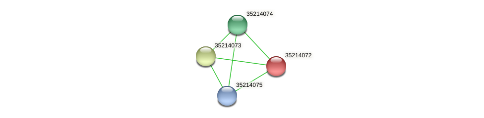 gsl3500 protein (Gloeobacter violaceus) - STRING interaction network
