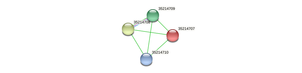 gsl4133 protein (Gloeobacter violaceus) - STRING interaction network