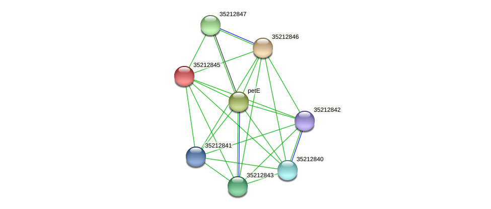 gsr2277 protein (Gloeobacter violaceus) - STRING interaction network