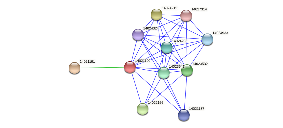 mll0158 protein (Mesorhizobium loti) - STRING interaction network