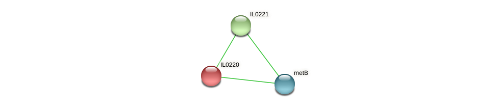 IL0220 protein (Idiomarina loihiensis) - STRING interaction network