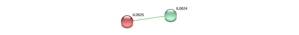 IL0625 protein (Idiomarina loihiensis) - STRING interaction network