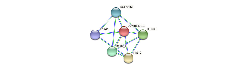 IL0632 protein (Idiomarina loihiensis) - STRING interaction network