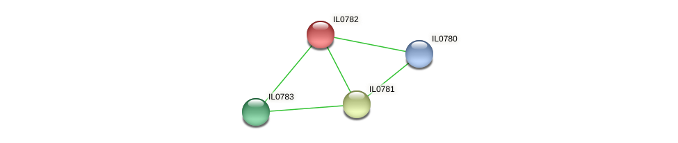 IL0782 protein (Idiomarina loihiensis) - STRING interaction network