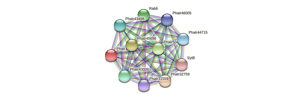 Phatr14850 protein (Phaeodactylum tricornutum) - STRING interaction network