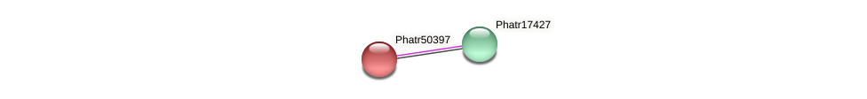 Phatr50397 protein (Phaeodactylum tricornutum) - STRING interaction network